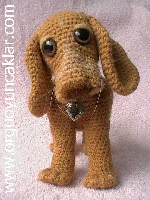 Amigurumi Hound Dog : 25 best images about Dog Crafts / DIY on Pinterest Fork ...