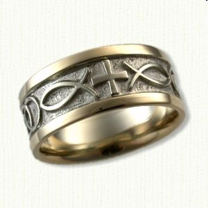 christian wedding rings sets 17 best images about custom religious wedding bands on 2924