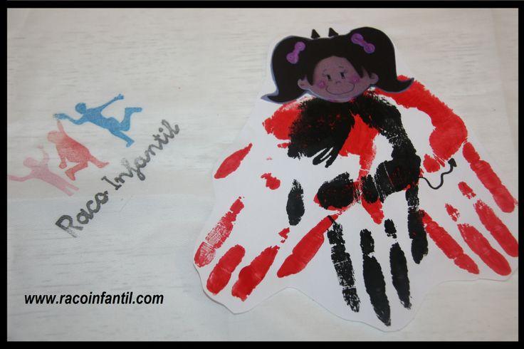 Hoy os traemos la actividad realizada con los niños de 3 años para celebrar Sant Antoni. Es una manualidad muy sencilla y divertida! http://www.racoinfantil.com/actividades/demonio-con-la-mano/