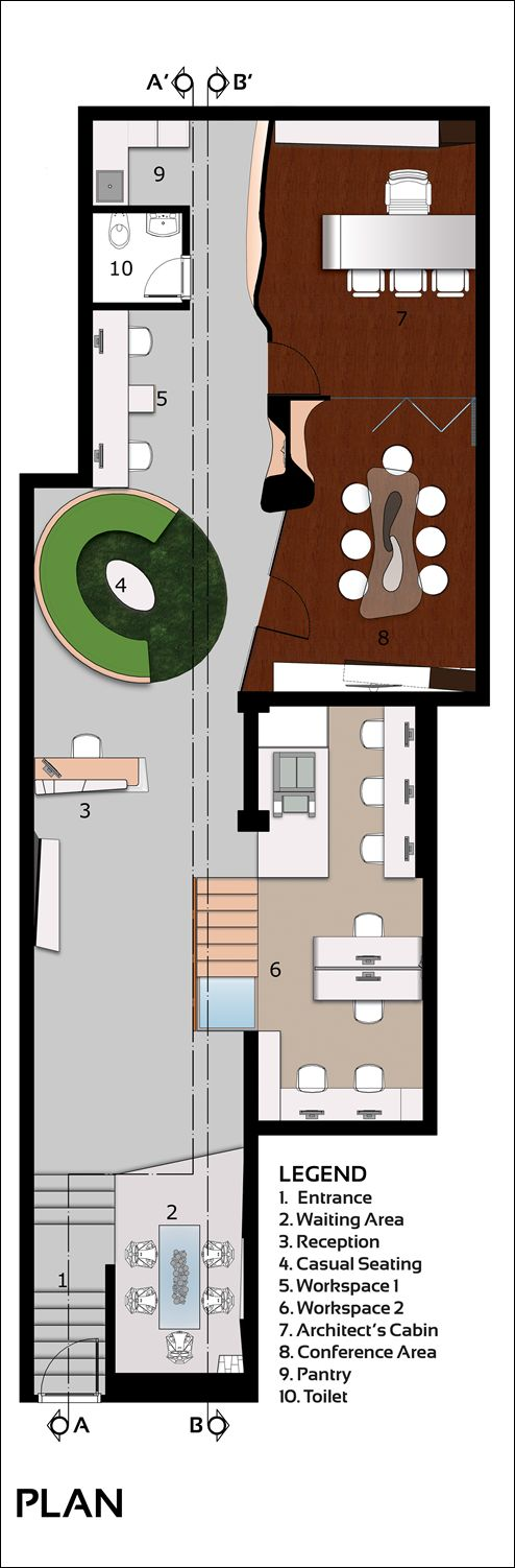 Студия современного архитектора в Нью-Дели, Индия
