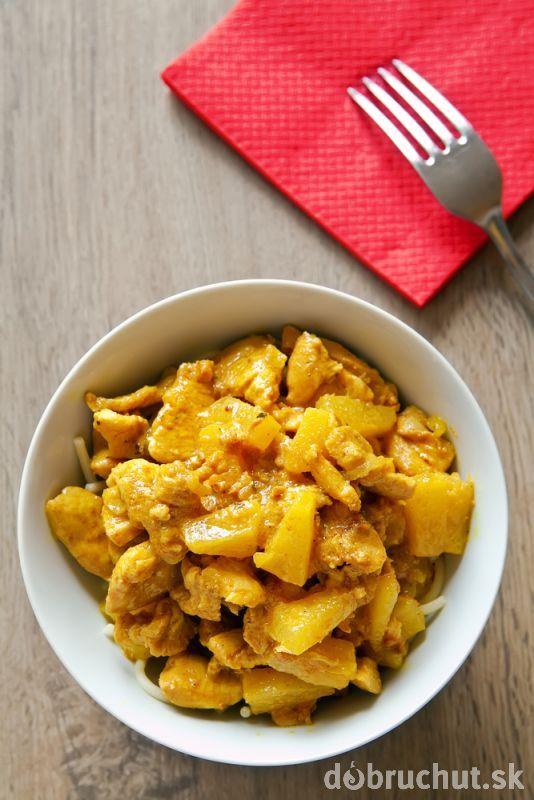 Kuracie kari s ananásom