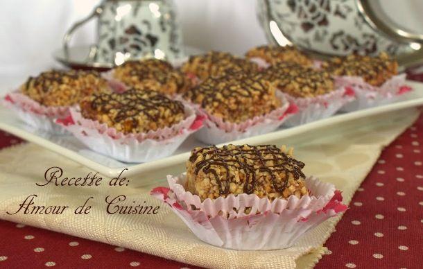 gateaux milles feuilles confiture et cacahuetes - Amour de cuisine