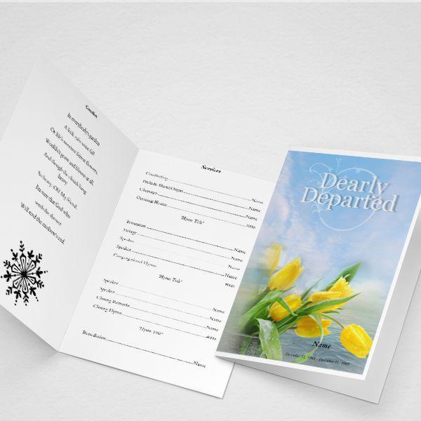 Pinterestu0027teki 25u0027den fazla en iyi Funeral program template free - free funeral programs
