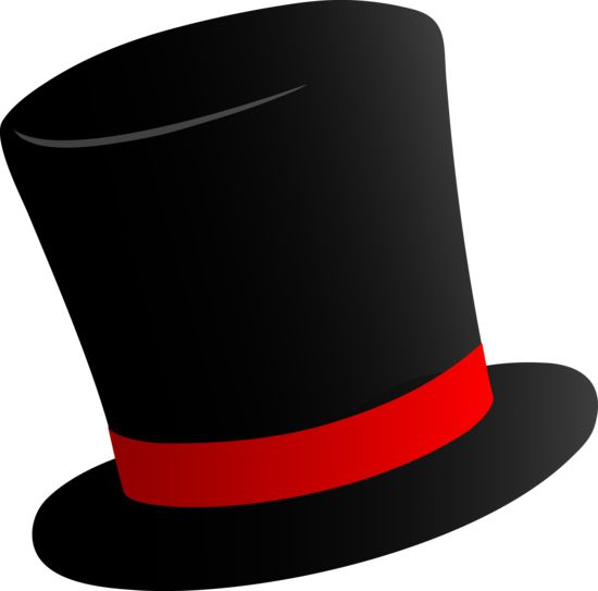 Black Top Hat ClipartFrosty ChristmasWinter Pinterest Tops Design And Hats