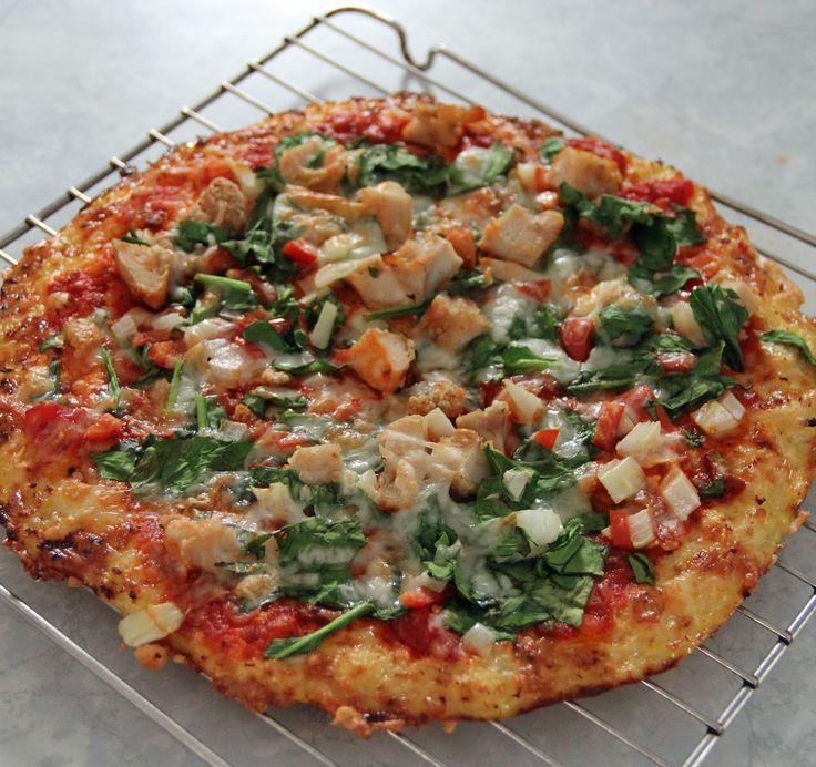 Jo and Sue: Cauliflower Crust Pizza