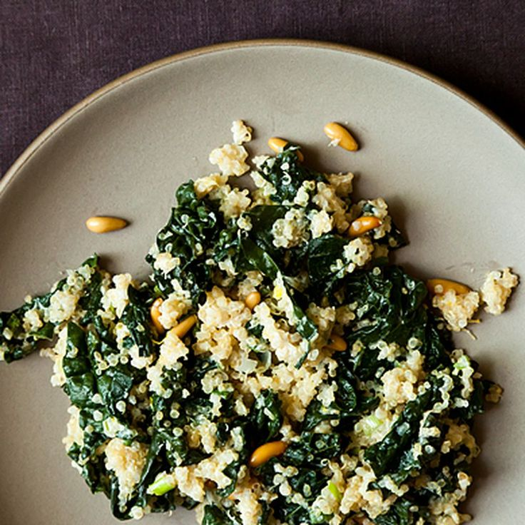 One Pot Kale and Quinoa Pilaf Recipe on Food52 recipe on Food52
