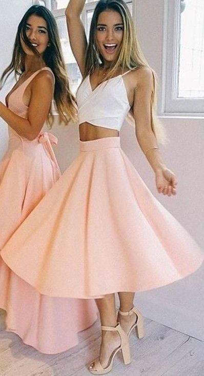#fall #jane #lu #outfits | White Crop + Nude Skirt