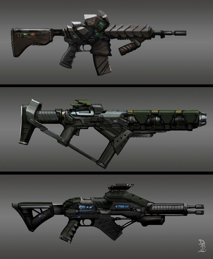 ArtStation - weapon, Boukhezzer Mehdi