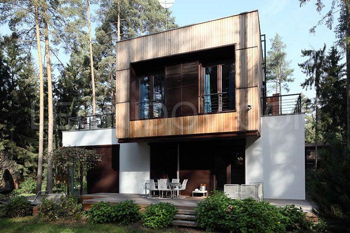 проект современного загородного дома, modern architecture, современная архитектура,