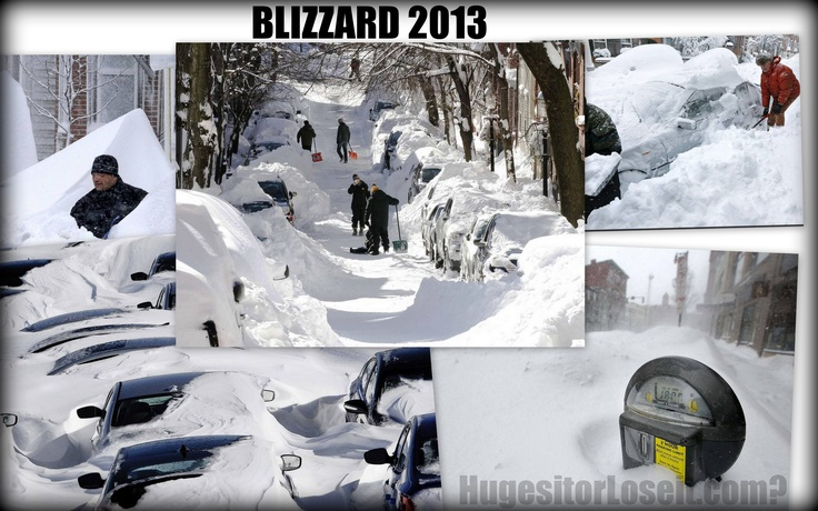 Wow, that's a lot of snow. The #Blizzard 2013 was powerful. - Hughes it or Lose it? #boston #weather