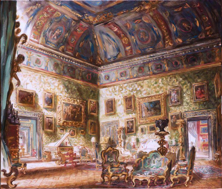 Pallavicini Palace (Rome); The apostles Salon; 60x70 cm; oil on canva; Philippe Casanova 2017