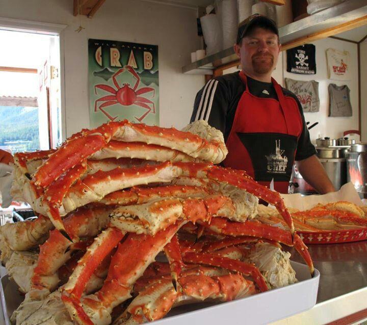 Giant Alaskan King Crab Legs 10lbs - Tanner's Fish  Giant Alaskan King Crab Legs