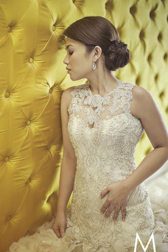 34 best The Veluz Bride images on Pinterest | Short wedding gowns ...