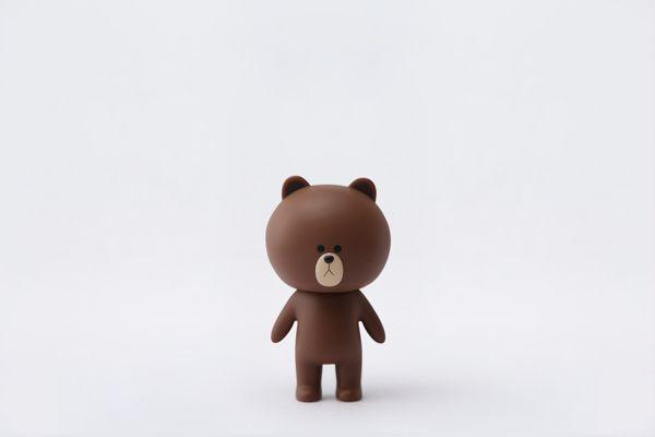 LINE FRIENDS 15cm Figure - Brown on Behance