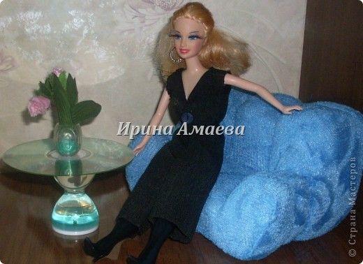 Всем привет! Вот такая самодельная мебель у кукол моих дочек))). фото 10