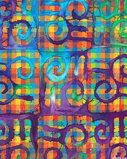 jewels tribal madras batik quilt fabrics from