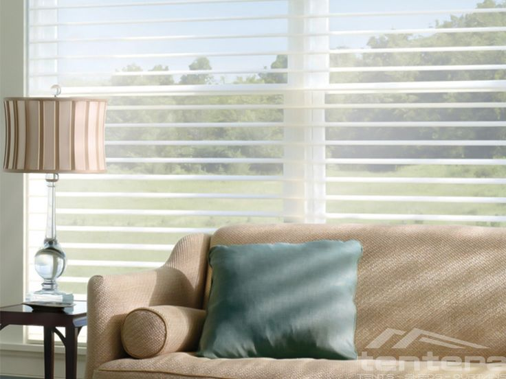 Featuring the Signature S Vane Hunter Douglas Silhouette sheer blinds are available with our advanced LiteRise lifting system eliminating the need for - Contemporary Window Coverings