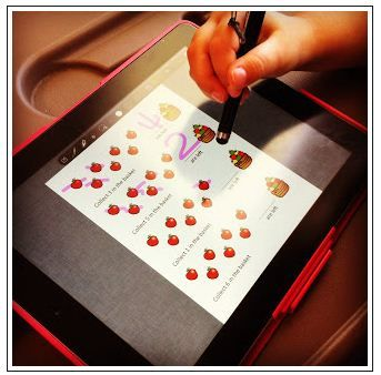 transferring worksheets to the iPad