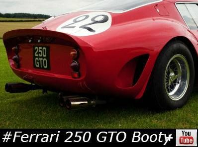The #Ferrari 250 GTO #Classiccar #BOOTY! with great video >  http://buff.ly/1knoefZ