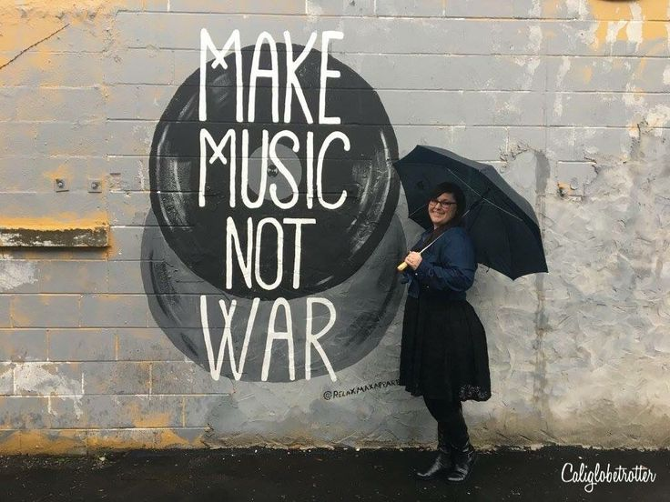 "Not only is Nashville home to Country Music and is nicknamed ""Music City"", but it's also home to A LOT of amazing Wall Murals / Street Art. We recently visited Nashville, on the d…"