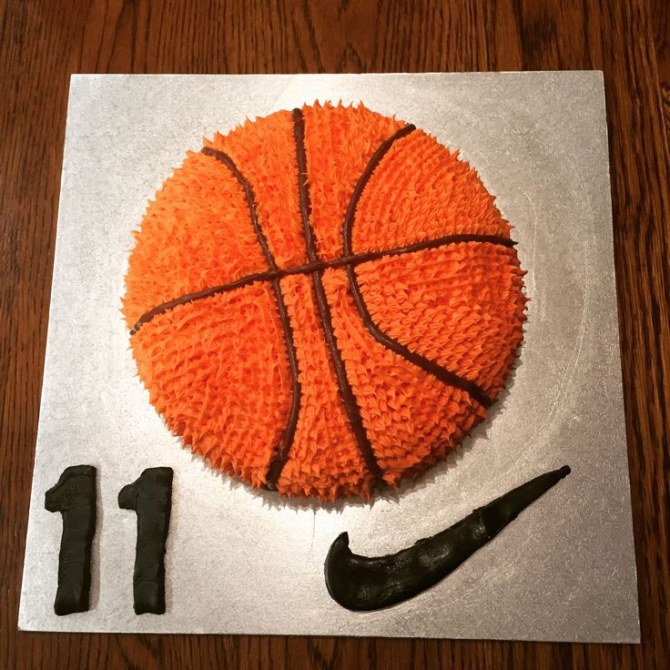 Easy Basketball Cake