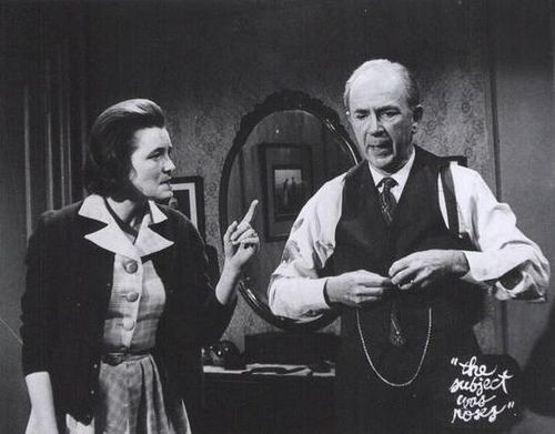 Patricia Neal & Jack Albertson in The Subject Was Roses | Flickr - Photo Sharing!