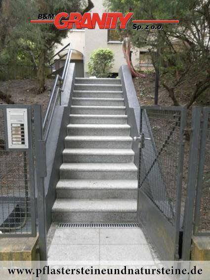 Firma B&M GRANITY - Treppen aus unterschiedlichen Natursteinen haben so diverse Formen…Alles hängt von der schöpferischen Vision ab…Hier hat man auch sooo… viele Varianten…einfache und ausgebaute Treppenanlagen…  http://www.pflastersteineundnatursteine.de/fotogalerie/unterschiedliche-naturstein-produkte/