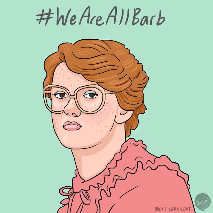 "Barbara ""Barb"" Holland from Stranger Things"