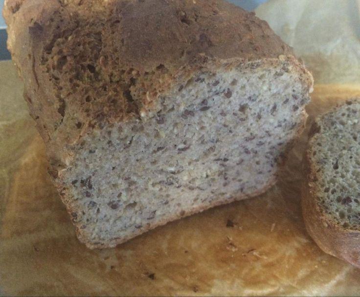 "Blitzbrot ""Angela"" Vitalbrot Brot Ruck-Zuck für Anfänger / vegan"
