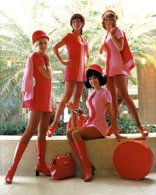 Similar style to our Mini Monorail Hostess uniforms....can't find any pics of them!!