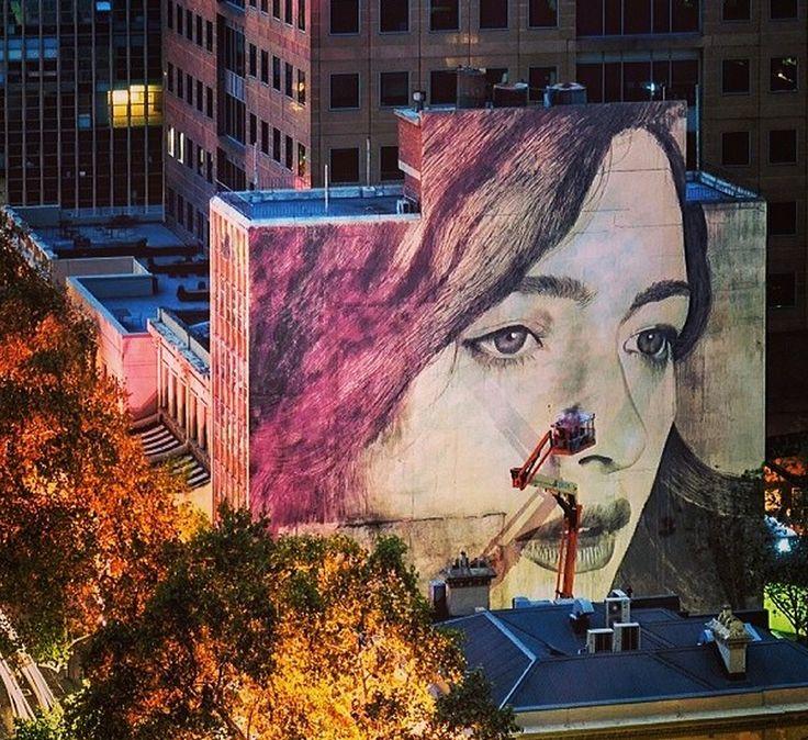 Rue & Co., Collins Street, Melbourne ..RONE...