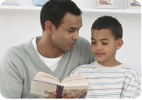 Reading With Your Children: Ages 6-8    Literacy Milestones .   Your child may:   *Read and finish a variety of materials at an appropriate level with guidance.   *Read aloud with fluency.   *Self-correct when he or she makes a mistake in reading.   *Read silently for increasingly longer periods (fifteen to thirty minutes)   *Summarize and retell story events in sequential order.   *Make personal connections with facts, characters, and situations in fiction  Compare and contrast characters…