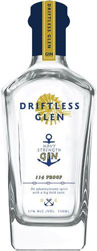 Driftless Glen Distillery Navy Force Gin