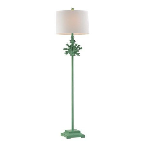 Dimond Lighting Led Floor Lamp In Spearmint Green Led Floor Lamp Floor Lamp Floor Lamp Base
