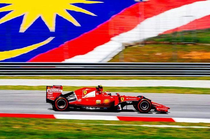 Kimi. Sepang. Scuderia Ferrari