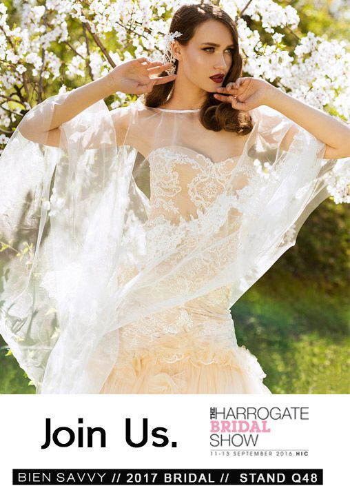 BIEN SAVVY premieres the 2017 wedding dresses at the Harrogate Bridal Show, this September in UK. For more, visit:  http://goo.gl/PKRl0M