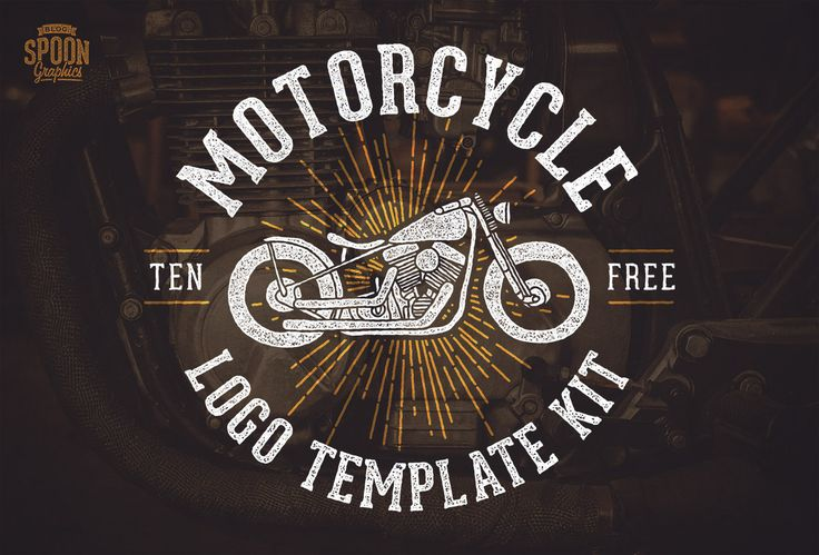 Free Motorcycle Vector Graphics & Logo Template Kit | Logo Templates ...: pinterest.com/pin/436427020120507134