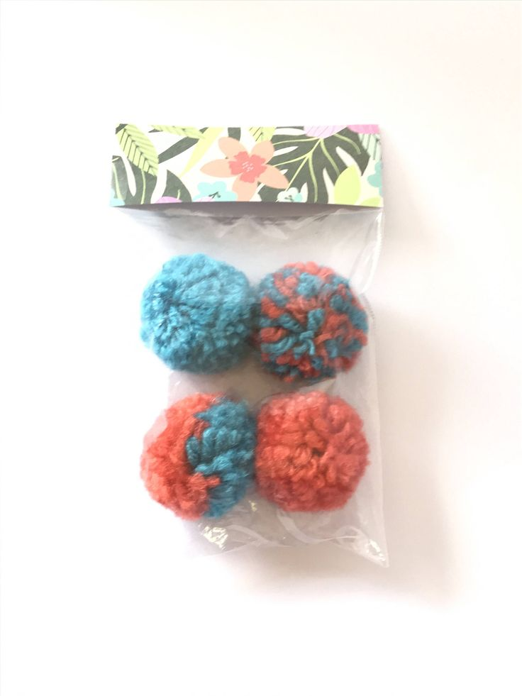 A personal favorite from my Etsy shop https://www.etsy.com/listing/537043143/fun-cat-toys-tropical-puffs-package-ball