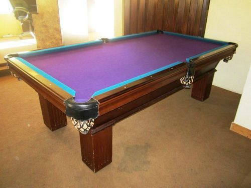 8 Foot Used Pool Table Used pool tables, Pool table