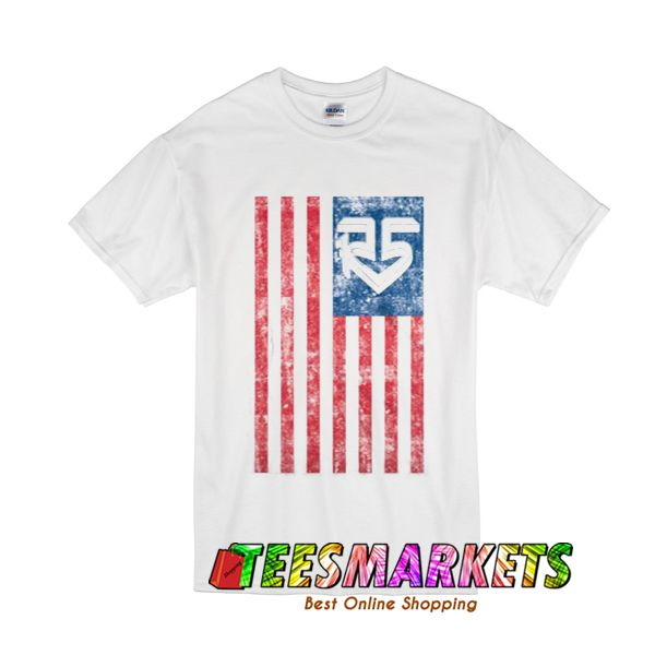 R5 USA Flag T-Shirt
