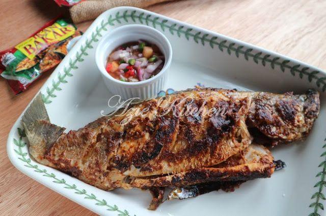 Ikan Bakar Sedap Dengan Perencah Ikan Bakar Adabi Food