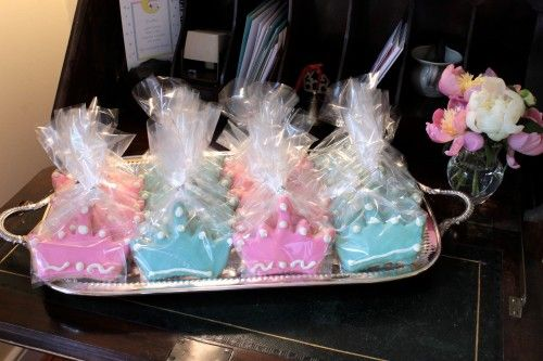 Party favors for the guests of the Royal Baby Shower Benefit via The Gracious Posse