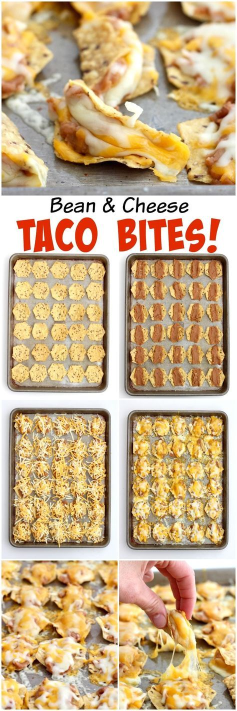 Just 3 ingredients and 15 minutes is all it takes to make these tasty bean and cheese taco bites. The crowd will go crazy over them at your next get together! The big game is just a few weeks away and I just have to share one of our current favorite finger foods that I've been making and serving …