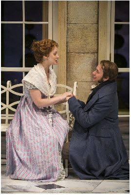 ashley rose montondo - Google SearchAshley Rose Montondo (Elizabeth Bennet) and Vincent Kartheiser (Fitzwilliam Darcy) in the Guthrie Theater's production of Pride and Prejudice, by Jane Austen, adapted by Simon Reade. Directed by Joe Dowling, set design by Alexander Dodge, costume design by Mathew J. LeFebvre and lighting design by Philip S. Rosenberg. Photo by Michael Brosilow.