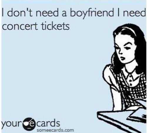 #Boyfriend, #Concert, #Tickets,   #Funny