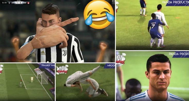 Os Falhanços Mais Engraçados Até Ao Momento No FIFA 18