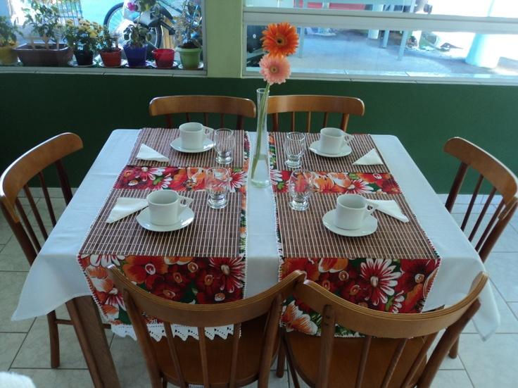 Café da manhã - foto enviada por Wanneska Nascimento Amancio