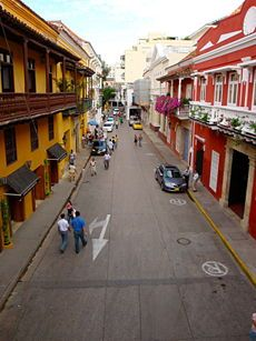 Cartagena, Colombia. 14 days in December '10. Amazingly beautiful.