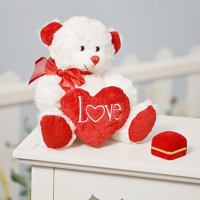 give your cuddle bear a cuddly bear full of love as every adoring couple knows you dont need a special day or reason to give each other gifts of love