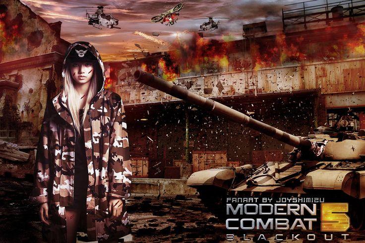 BlackPink Lisa Modern Combat 5' Photomanipulation by xlaidz